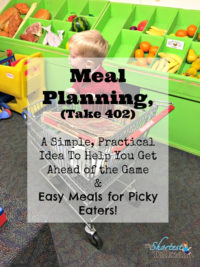 Meal Planning Ideas www.theshortesttallman.com