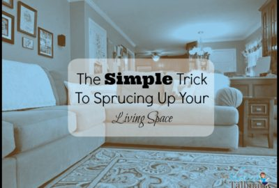 The Simple Trick To Sprucing Up Your Living Space! www.theshortesttallman.com