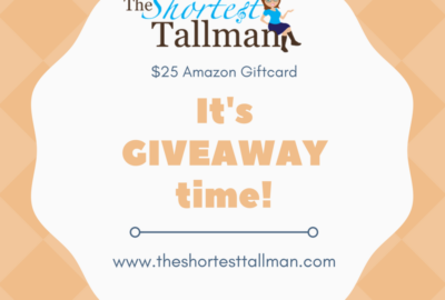Giveaway 2017! www.theshortesttallman.com
